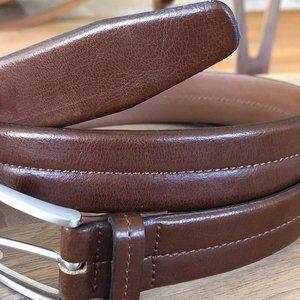 Italian Split Leather Belt